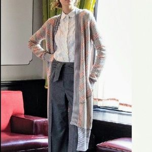 Anthropologie sparrow long cardigan duster sweater
